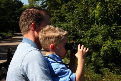 Isaac Adam binoculars